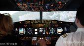 Boing 737 Flugsimulator